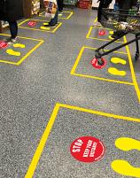 Social Distancing Floor Marker Kits