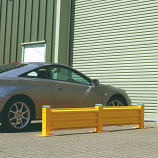 Steel Barrier System - Posts - Single: 483mm