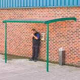 Large Wall Mounted Smoking Shelter
