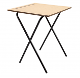 Beech Folding Exam Desk
