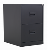 Next Day 2 Drawer Steel Filing Cabinet