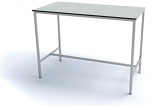 1200 x 600mm H-Frame Lab/Science Table