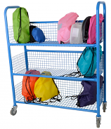 Mobile Lunchbox Trolley - Single sided