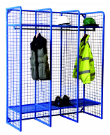 Heavy Duty Wire Mesh Storage Wall Mounted