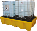 Double IBC Bunded Spill Pallet