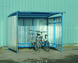 Industrial Bike Shelter