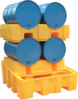 Horizontal Four Drum Storage System