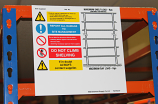 Weight Load Notices - Shelving