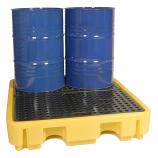 4 Drum Bunded Spill Pallet