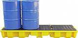 4 Drum In-Line Bunded Spill Pallet