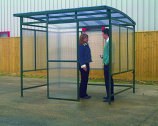 Free Standing Smoking Shelter