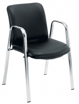 Conference Chrome Pavilion Armchair