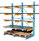 Cantilever Racking - 12 x 500mm Arms