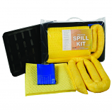 20Litre Chemical Spill Kit in Clip-Close Plastic Bag + Drip Tray
