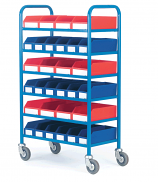 Container Trolley With 30 Containers