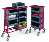 Container Storage Trolleys - 4 Containers