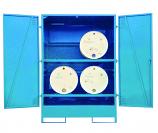 Fully Closed Drum Storage Unit