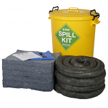 90 Litre Universal Spill Kit in Yellow Drum