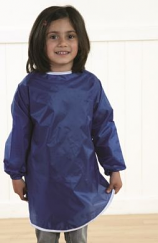 School Aprons Nylon Water Play Smock- Pack of 10