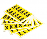 Self Adhesive Number and Letters Packs