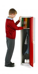 Single Door School Locker