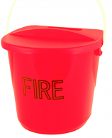 Fire Bucket and Lid