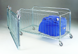 Folding Container Trolleys - 125mm Castors