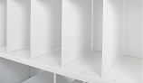 Anco Delta Plus Shelving Accessories - Fixed Height Dividers