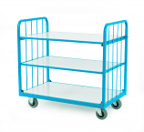 3 Shelf 3 Way Convertible Trolley
