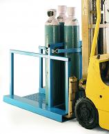 Forklift Gas Cylinder Pallet Cages