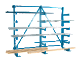 Cantilever Racks Parallel Arms - Single Sided