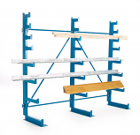 Cantilever Racking Tapered Arms - Single Sided