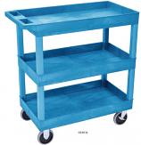 Plastic Multi Purpose Trolleys - 3 Shelf
