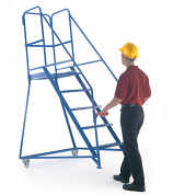 GS Approved Fort Tilt 'N' Push Mobile Steps
