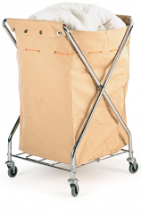 Folding X Type Laundry Trolley