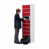 Laptop Lockers 1800H x 450W x 450Dmm