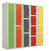 Laminated Splash Lockers