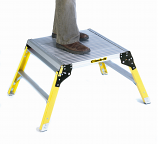 Large Aluminium Platform with Glass Fibre Legs