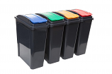 25 Litre Recycle Bin With Lift Lid