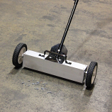 Magnetic Sweeper With Switchable Release