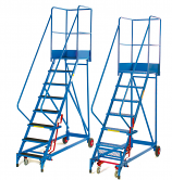 Fort Heavy Duty Mobile Warehouse Steps - Phenolic Treads
