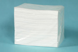 Oil & Fuel Absorbent Pads - Plain - Single Weight
