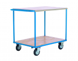 Budget Range Shelf Trucks - 2 Shelf with Push Handle