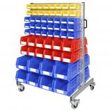 Anco Plastic Storage Bin Trolley 120 Bins