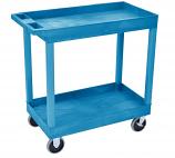 Plastic Multi Purpose Trolleys - 2 Shelf