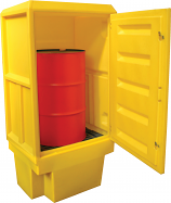 1 Drum Spillpallet Cabinet