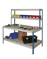 Anco Rivet Workstations - Full Undershelf