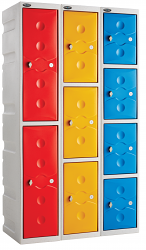 Shower Full Height Plastic Lockers