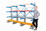 Anco Adjustable Single Sided Cantilever Racking