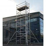 Sky-High Scaffolding Tower